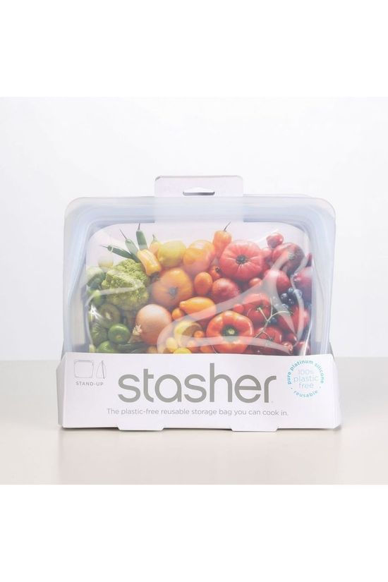 Stasher Gadget Stasher Stand Up Clear No colour / Transparent