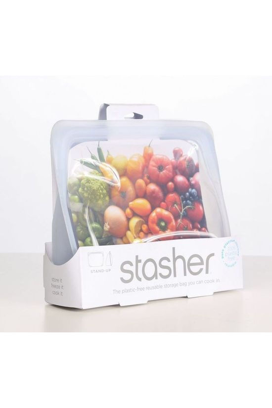 Stasher Gadget Stasher Stand Up Clear Geen kleur / Transparant