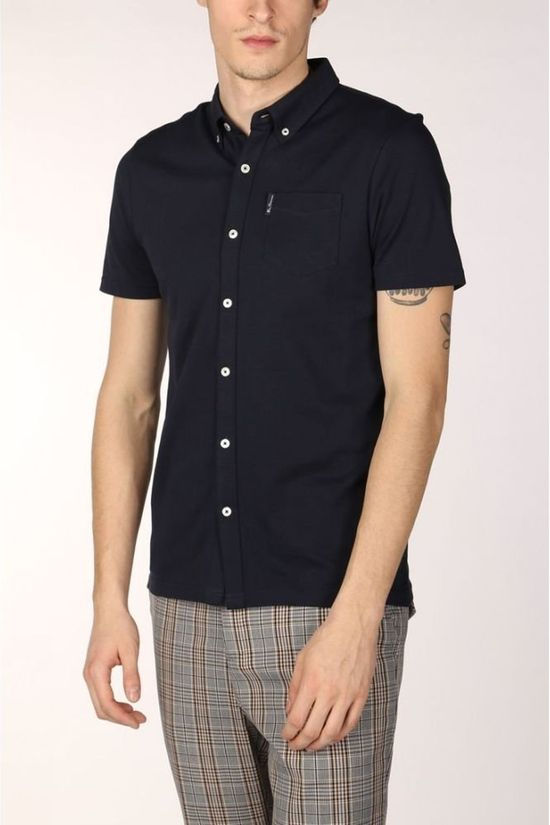 Ben Sherman Polo 2001-Po0059322 dark blue