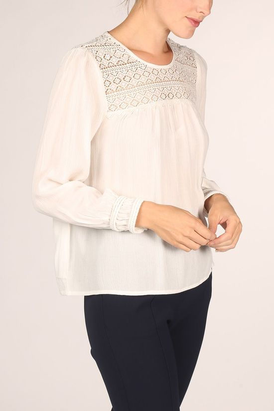 Pepe Jeans Shirt Jocelyn off white