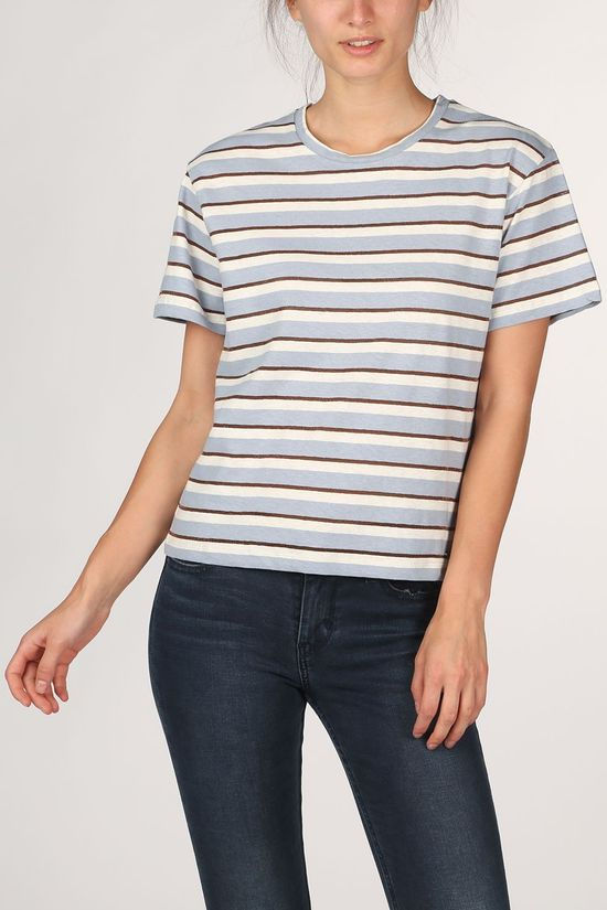 Pepe Jeans T-Shirt Camile off white/blue