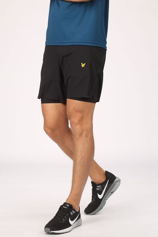 "Lyle & Scott Short 7"" Training Zwart"