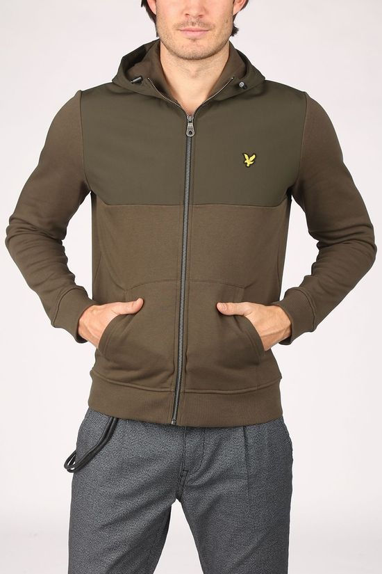 Lyle & Scott Cardigan 2002-Ml1314V Donkerkaki