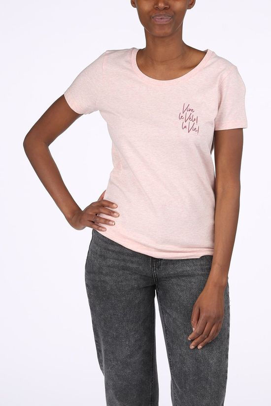 Vive le Velo T-Shirt T-Vvv light pink