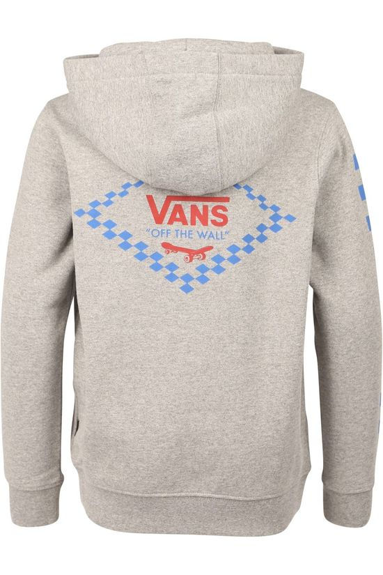 Vans Pullover By Skate Disjunction Po Boys Light Grey Marle