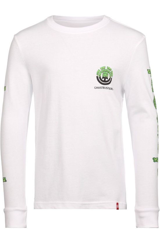 Element T-Shirt Proton Combo Ls Boy white