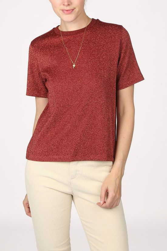 Maison Scotch T-Shirt 159280 dark red