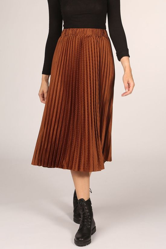 Scotch & Soda Skirt 159100 brown/black