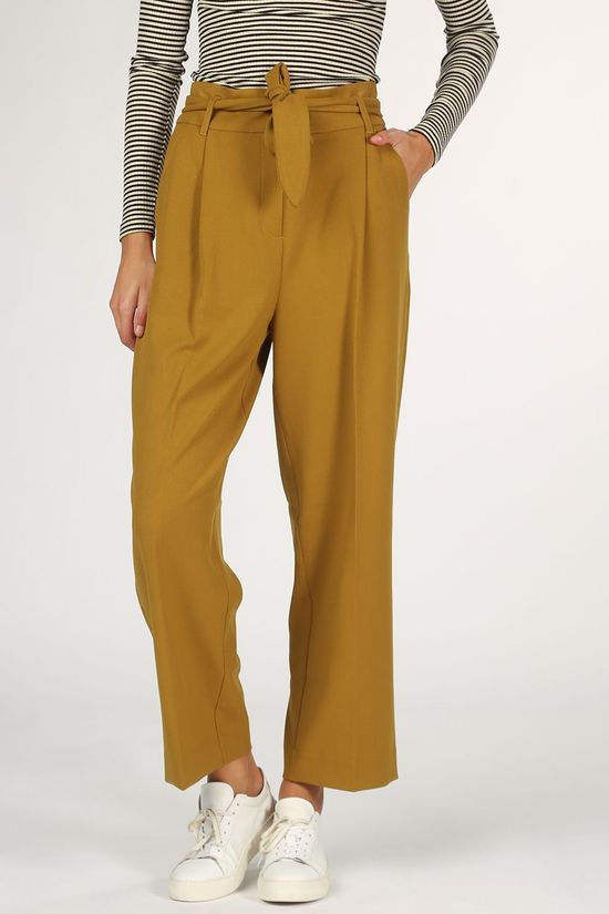 King Louie Trousers Ava Tuillerie dark yellow