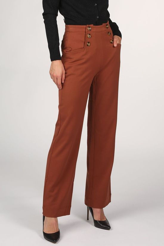 King Louie Pantalon Sailor Broadway Brun