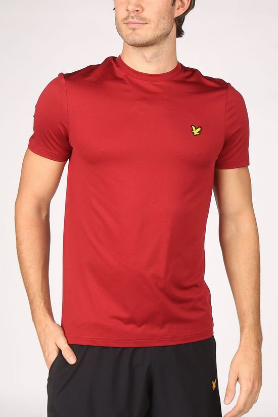 Lyle & Scott T-Shit Performance Seamless mid red
