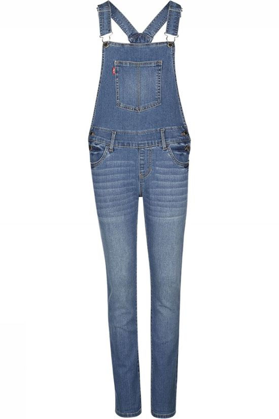 Levi's Kids Jumpsuit Lvg Girlfriend Overall Denim / Jeans/Bleu Moyen (Jeans)