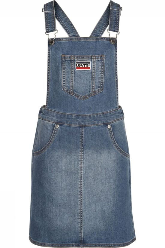 Levi's Kids Dress Lvg Woven Jumper Denim / Jeans/Dark Grey