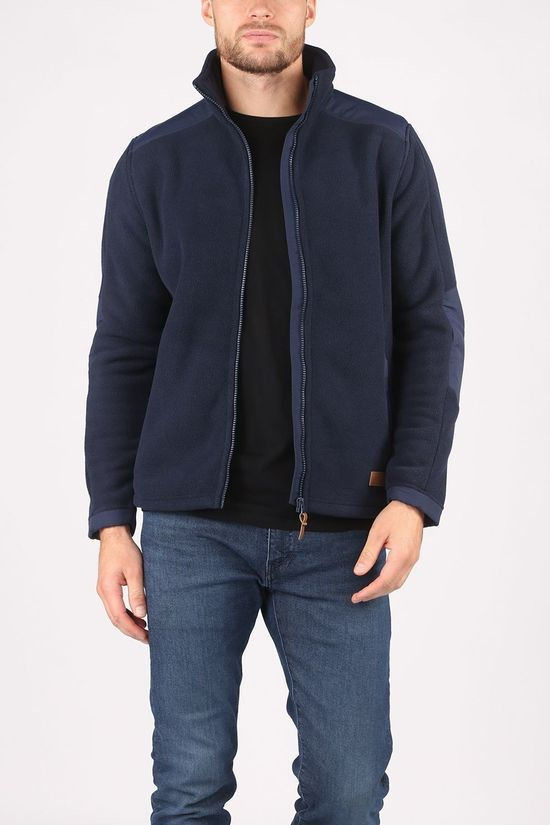 Ayacucho Fleece Dorset Marineblauw