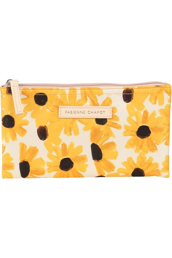 Fabienne Chapot Home SUMMER COLLECTION FCH PENCIL CASE FLAT SUNNY FLOWERS No colour / Transparent