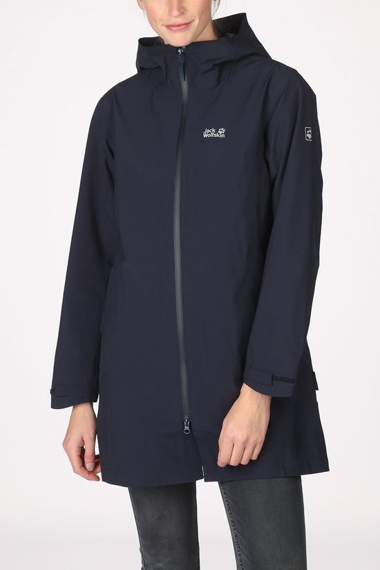 Jack Wolfskin Manteau JWP Pack And Go! Eco Bleu Marin