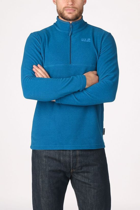 Jack Wolfskin Fleece Arco Half-Zip light blue