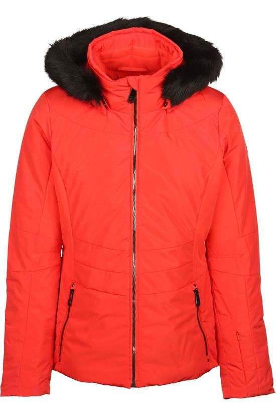 Poivre Blanc Manteau Active Stretch Jacket Orange/Noir