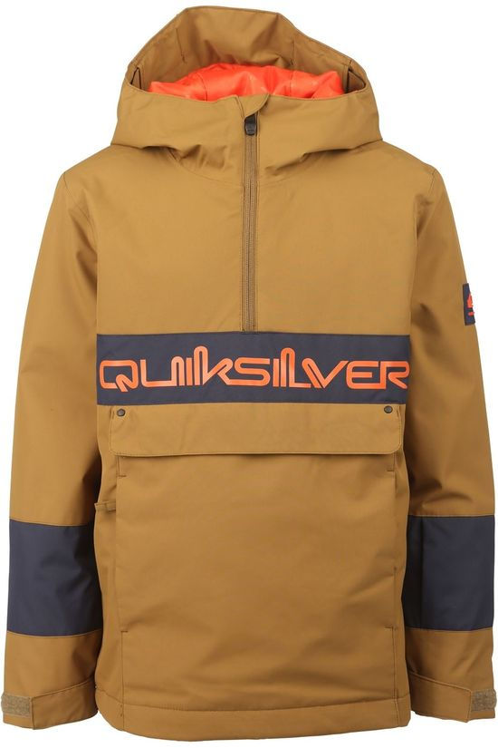 Quiksilver Manteau Steeze Youth Jk Kaki Moyen