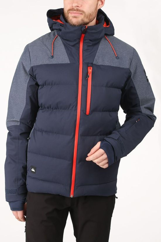 Quiksilver Jas The Edge Jacket Donkerblauw