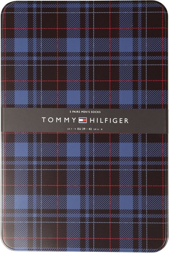Tommy Hilfiger Socks Sock Giftbox Birdeye Tin Blue (Jeans)