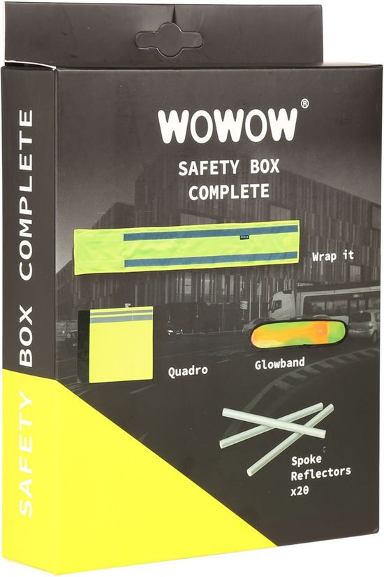 Wowow Mannen Safety Box Complete Geen kleur / Transparant