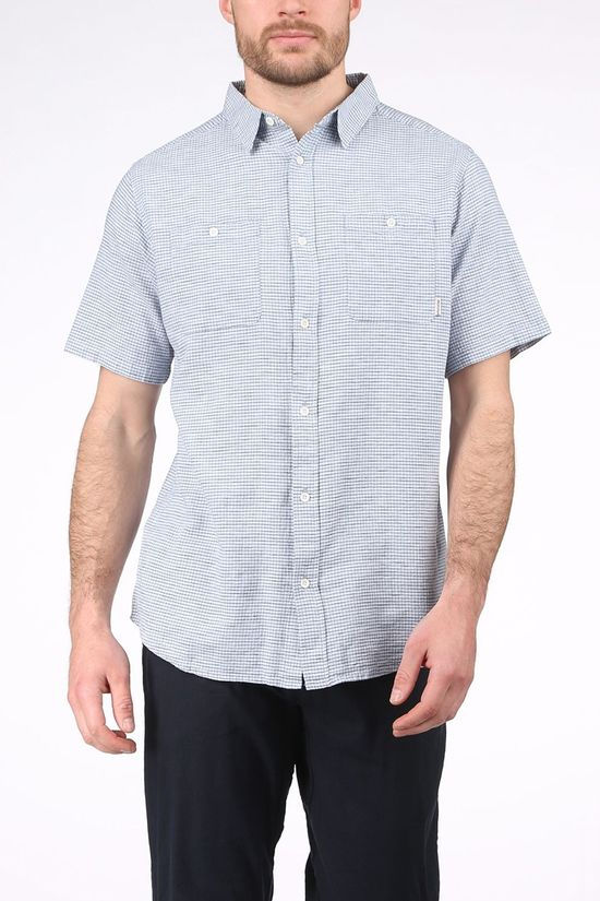 Ayacucho Shirt Goa Ss M light blue/mid blue