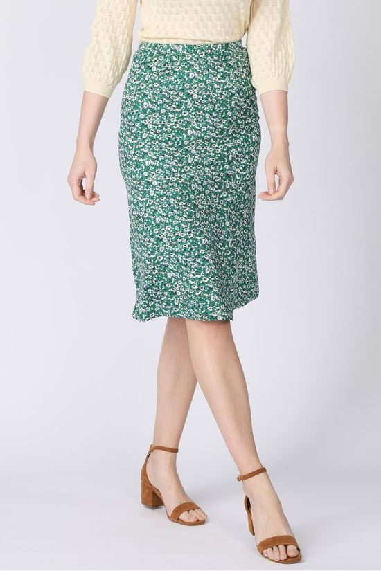King Louie Skirt Iris Skirt Perris mid green/white