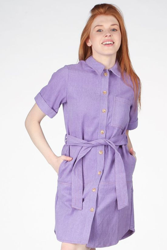 FRNCH Dress Adelma light purple