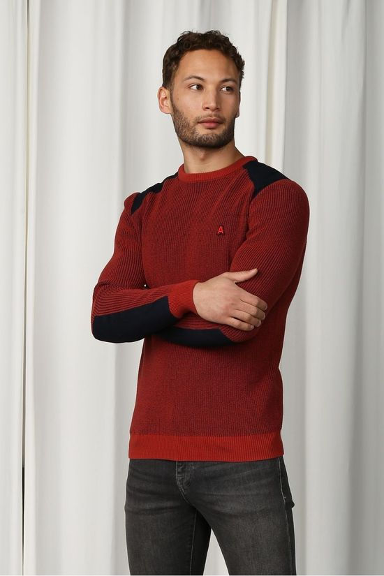 Antwrp Pullover Bkw004-L202 rust