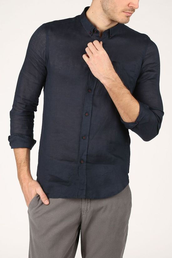Antwrp Shirt Bsh007K-C486 dark blue