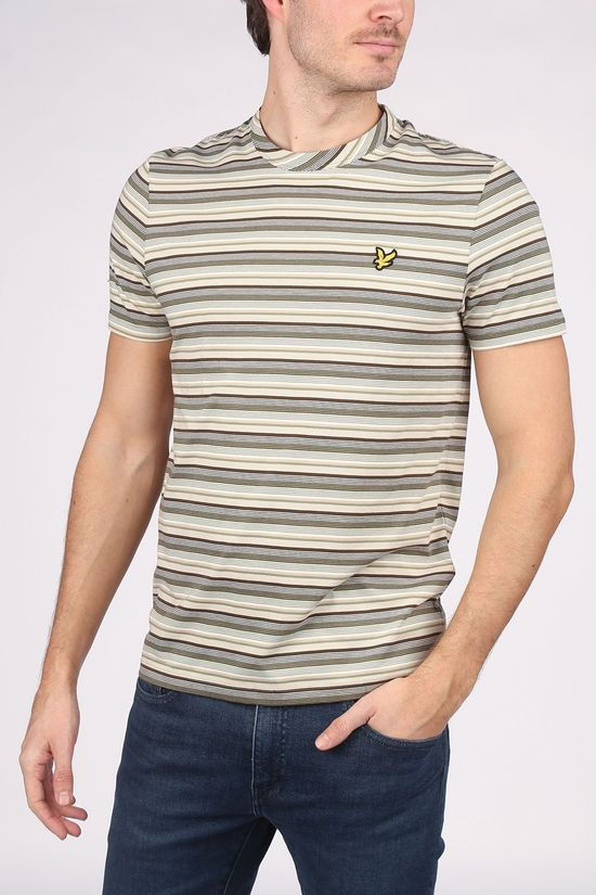 Lyle & Scott T-Shirt Ts1417 Light Khaki/Sand Brown