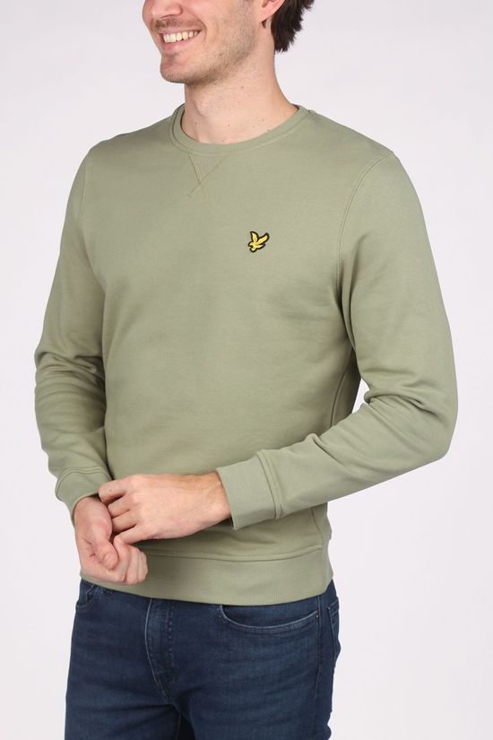 Lyle & Scott Pull Ml424 Kaki Moyen