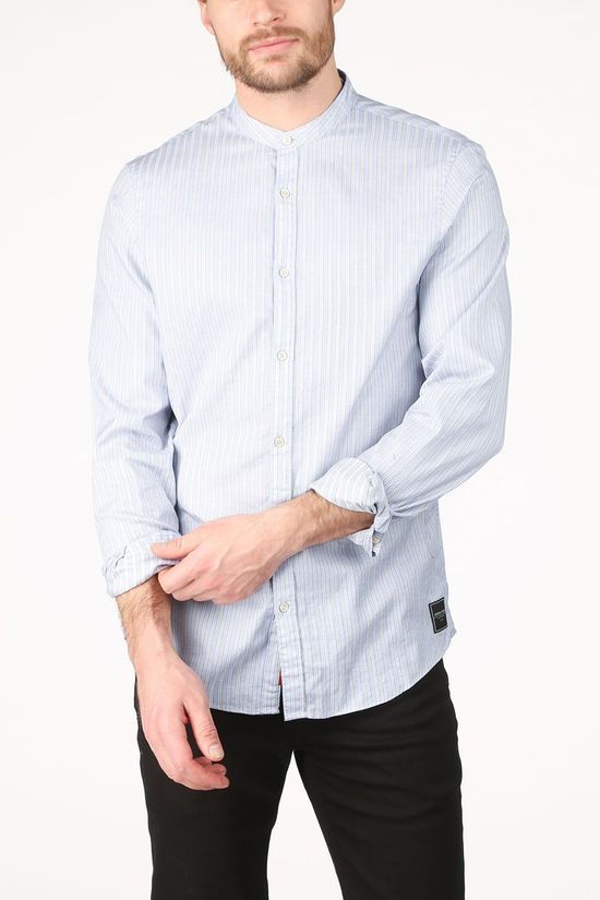 Scotch & Soda Shirt 160763 light blue/white