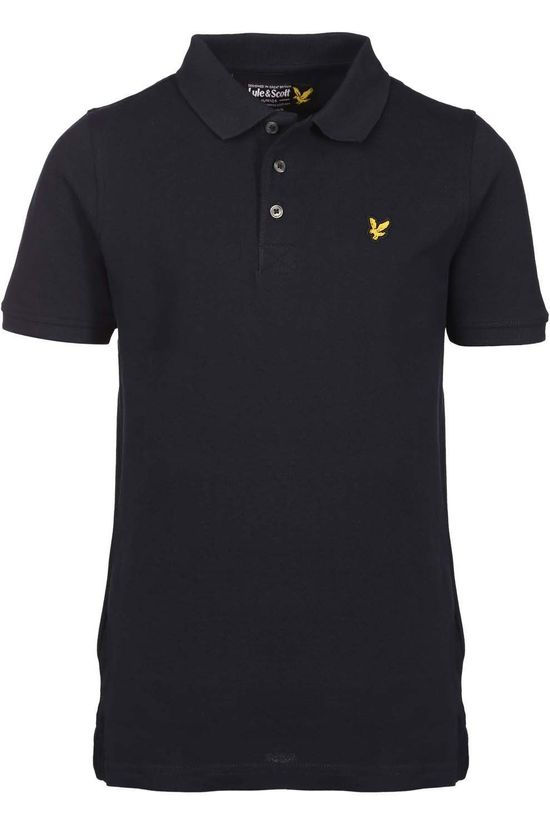 Lyle & Scott Polo Classic Polo Shirt Donkerblauw