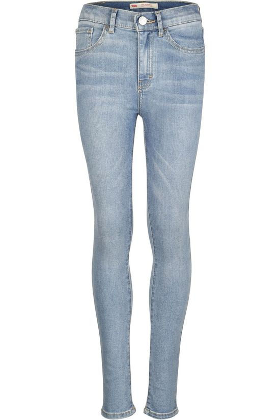 Levi's Kids Jeans Lvg 720 High Rise Super Skinny Denim / Jeans/Mid Blue
