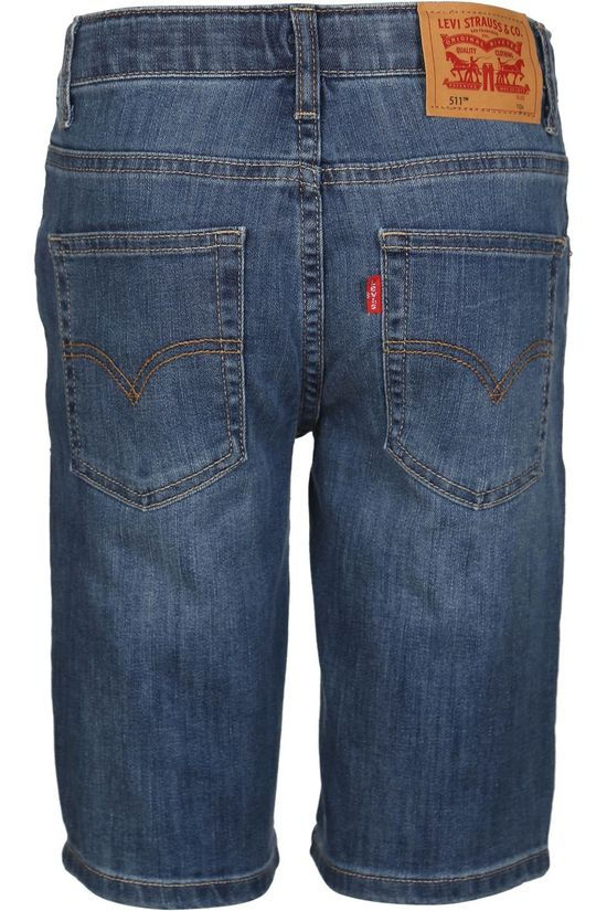 Levi's Kids Shorts Lvb Lw Performence Short Denim / Jeans/Mid Blue