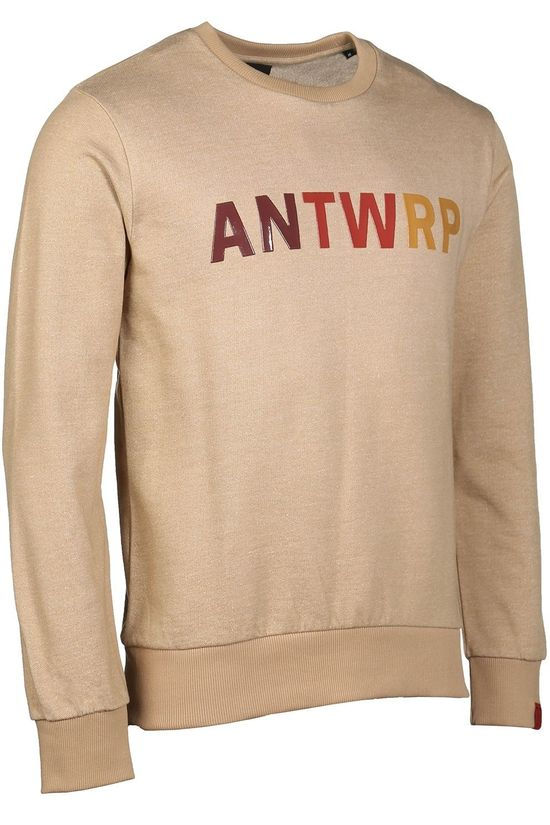 Antwrp Pullover Bsw049 As Sand Brown