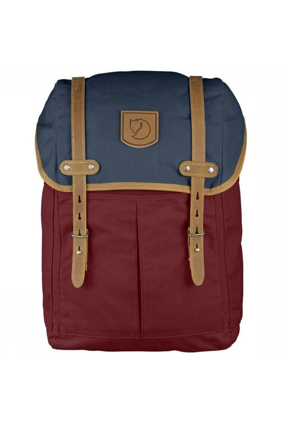 Fjällräven Daypack No.21 Medium Red/Navy Blue