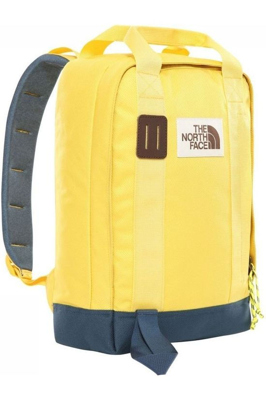 The North Face Dagrugzak Tote Pack Middengeel/Donkerblauw