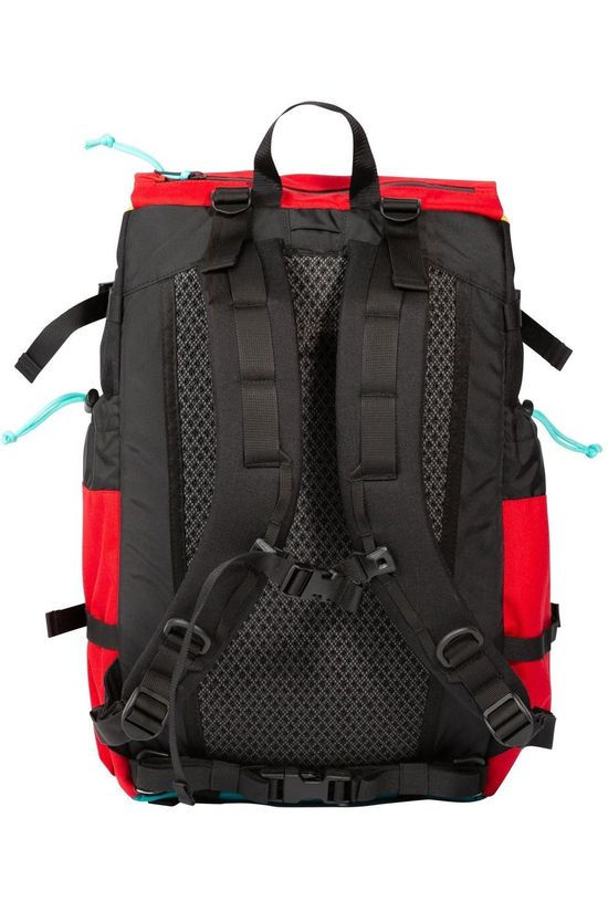 Topo Designs Daypack Mountain Pack mid red/mid green