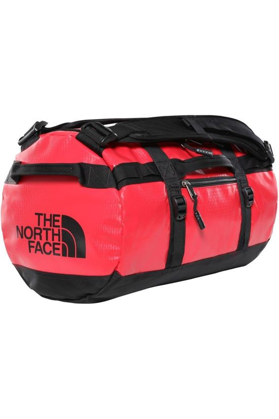 The North Face Reistas Base Camp Duffel XS/31L Middenrood/Zwart