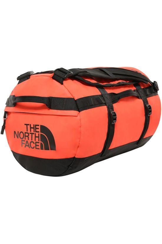 The North Face Travel Bag Base Camp Duffel S/50L light red/black