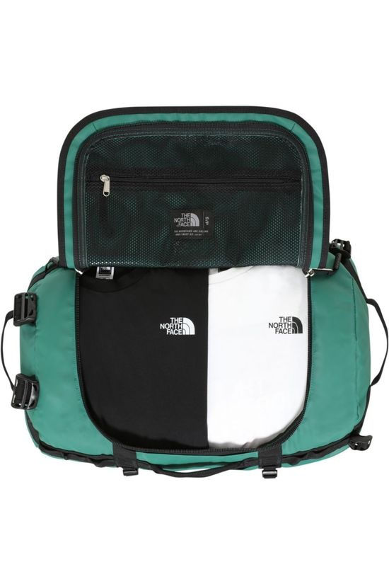 The North Face Travel Bag Base Camp Duffel S/50L dark green/black