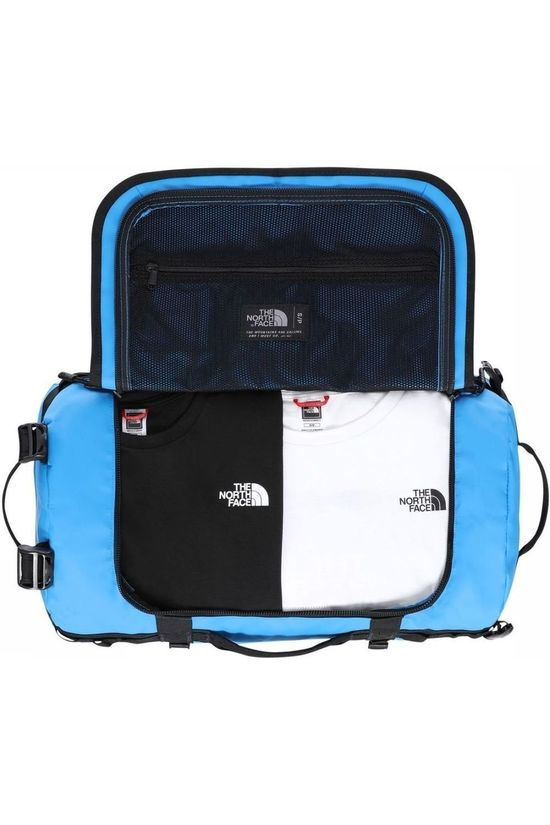 The North Face Reistas Base Camp Duffel S/50L Blauw (Jeans)/Zwart