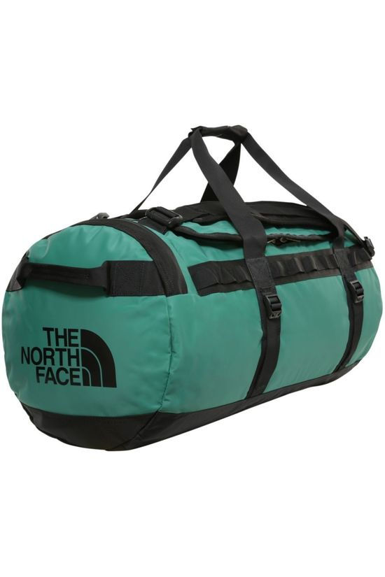 The North Face Reistas Base Camp Duffel M/71L Donkergroen/Zwart