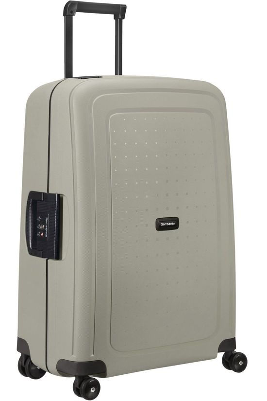 Samsonite Suitcase S'Cure Eco Spinner 69/25 light grey