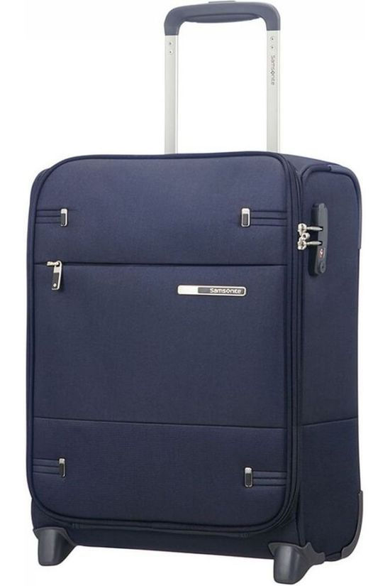Samsonite Cabin Luggage Base Boost Upright 45 Underseater dark blue