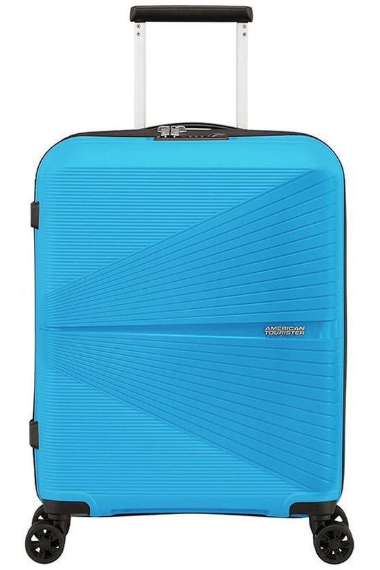 American Tourister Cabin Luggage Airconic Spinner 55 light blue