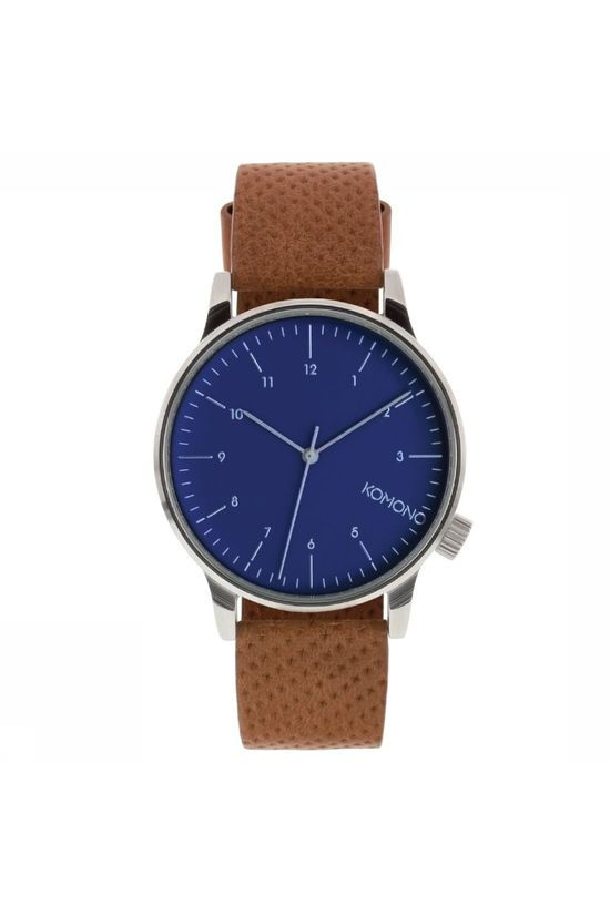 Komono Watch Winston mid brown/dark blue